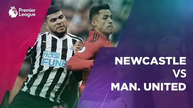 Berita video statistik Newcastle United vs Manchester United pada laga pekan ke-21 Premier League 2018-2019.