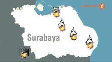 banner grafis teror Surabaya