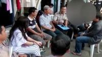 Mediasi terjadi diantara orangtua korban A dan penganiaya R untuk sepakat damai hingga perampok ditangkap di Subang, Jawa Barat.