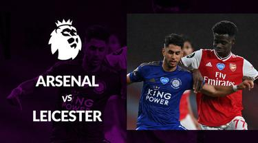 Berita motion grafis statistik Arsenal ve Leicester City pada lanjutan Premier League 2019-2020 pekan ke-34.