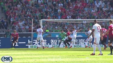Berita video Bayern Munchen yang terlalu perkasa di Bundesliga musim 2017-2018 dengan menundukkan Hannover 3-0. This video presented by BallBall.