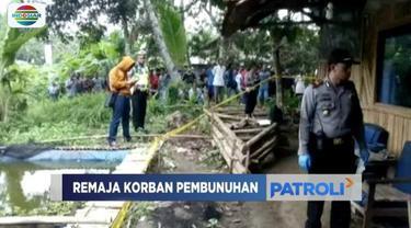 Warga Kota Banjar, Jawa Barat, geger penemuan jasad remaja pria dengan kepala hampir putus.