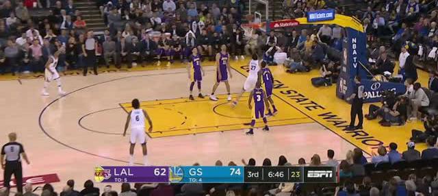 Berita video game recap NBA 2017-2018 antara Golden State Warriors melawan LA Lakers dengan skor 117-106.