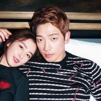 Rain dan  Kim Tae Hee. (foto: Soompi)