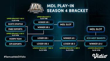 Jadwal dan Link Streaming MDL Season 4 Babak Play In di Vidio