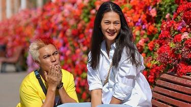 [Fimela] Paula Verhoeven dan Baim Wong