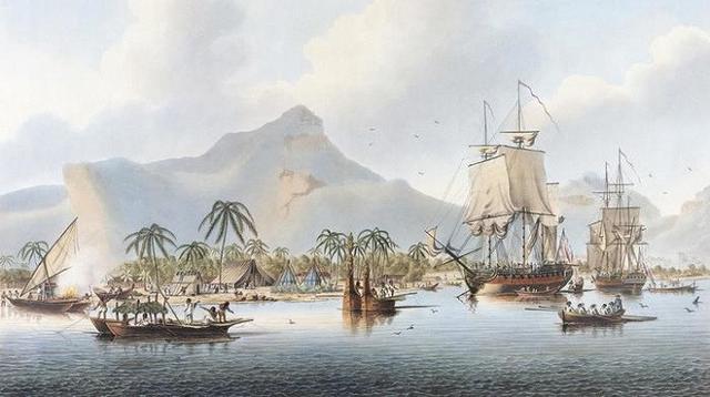 James Cook temukan Kepulauan Hawaii pada 18 Januari 1778. (Wikipedia)