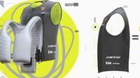 Rompi Dainese dilengkapi airbag (Dainese)