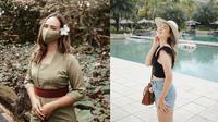 Gaya Pamela Bowie liburan di Bali. (Sumber: Instagram/pammybowie)