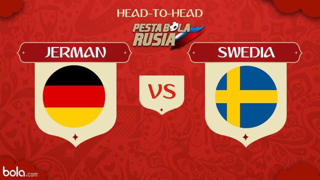 Berita video head-to-head Piala Dunia Rusia 2018: Jerman vs Swedia.