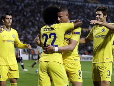 Liga Europa, Chelsea, PAOK