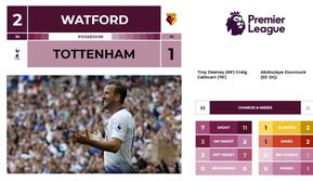 Hasil dan Statistik Liga Inggris Pekan ke-4: Watford 2 - 1 Tottenham (Cover) (AFP/Ian Kington)