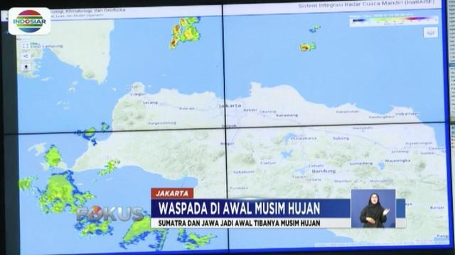 BMKG memprediki tiga hari ke depan Sumatera dan Jawa berpotensi hujan tinggi hingga mengakibatkan banjir bandang.