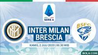 Serie A - Inter Milan Vs Brescia (Bola.com/Adreanus Titus)