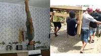 6 Kelakuan Bapak-Bapak Banyak Tingkah Ini Kocak, Tak Bisa Diam (sumber: Instagram.com/kebebasanrakyat)