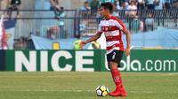 Pemain Madura United, Guntur Ariyadi. (Bola.com/Aditya Wany)