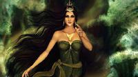 Ratu Pantai Selatan yakni Nyi Roro Kidul merupakan sosok dewi legendaris Indonesia yang begitu terkenal dengan berbagai mitos-mitosnya yang