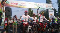Gowes Nusantara 2019 di Blora diikuti 10 ribu pesepeda (dok: Kemnpora)