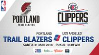 Portland Trail Blazers Vs Los Angeles Clippers (Bola.com/Adreanus Titus)