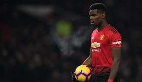 Gelandang Manchester United asal Prancis, Paul Pogba. (AFP/Paul Ellis)