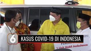 VIDEO: Menko Airlangga: Kabar Baik, Positivity Rate Covid-19 Indonesia Sudah di bawah Standar WHO