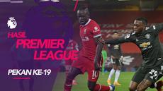 Berita motion grafis hasil Liga Inggris 2020/2021pekan ke-19, Manchester United tahan Liverpool, Manchester City menang besar.