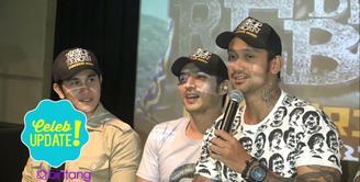 Tora Sudiro, Abimana Aryasatya dan Vino G Bastian yang berperan di dalam film Warkop DKI Reborn menjadikan para penontonnya sebagai raja.