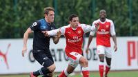 Ismael Bennacer masuk ke dalam skuat Aljazair yang berlaga pada Piala Africa 2017. (Arsenal FC)