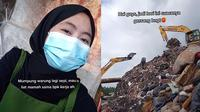 Tak Malu, Wanita Ini Tunjukkan Tempat Kerjanya di Tumpukan Sampah  (TikTok/@anay.nh)