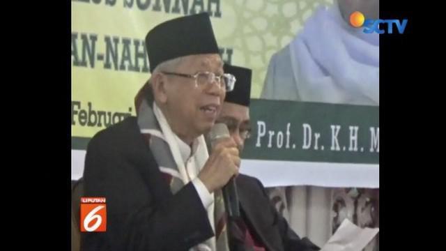 Ma'ruf Amin butuh dukungan NU untuk selamatkan Indonesia dari kelompok tertentu yang ingin ubah ideologi Indonesia.