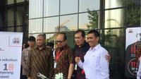 KPK Akan Berikan Sepeda untuk Warga yang Temukan Pelaku Teror Novel Baswedan (Liputan6.com/Lizsa Egeham)