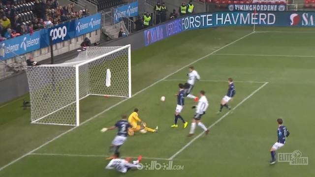 Berita video striker Rosenborg, Nicklas Bendtner, hanya butuh 8 menit untuk mencetak gol di Liga Norwegia. This video presented by BallBall.