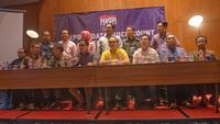 10 lembaga survei yang tergabung dalam Perhimpunan Survei Opini Publik Indonesia (PERSEPI) menjelaskan metodologi survei terkait Pemilu 2019. (Istimewa)