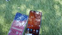 Samsung Galaxy A30s dan Galaxy A20s. Liputan6.com/Agustin Setyo Wardani