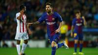 Megabintang Barcelona, Lionel Messi (AP Photo/Manu Fernandez)
