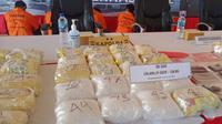 Barang bukti narkoba di Kaltara