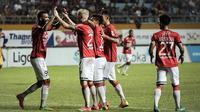 Pelatih Bali United, Widodo Cahyono Putro, menyebut timnya akan menghadapi laga sulit melawan Mitra Kukar yang sedang berjuang menjauhi zona merah Liga 1 2018. (dok. Bali United)