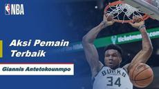 Berita Video Giannis Antetokounmpo Bawa Milwaukee Bucks Menang Atas Philadelphia 76ers 119-98