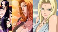Anime terlaris apa saja yang paling sering dijadikan sebuah hentai atau animasi porno?