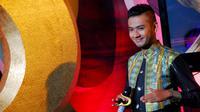 Zulfikar Novan harus tereliminasi dari babak Konser Final D'Academy, Senin (17/3/2014).