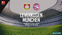Bundesliga: Bayer Leverkusen vs Bayern Munchen. (Bola.com/Dody Iryawan)