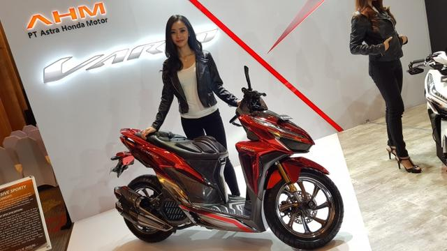 Modifikasi Honda Vario 150 Konsep Exclusive Sporty