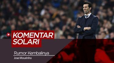 Berita video Santiago Solari yang menjawab rumor kembalinya Jose Mourinho ke Real Madrid