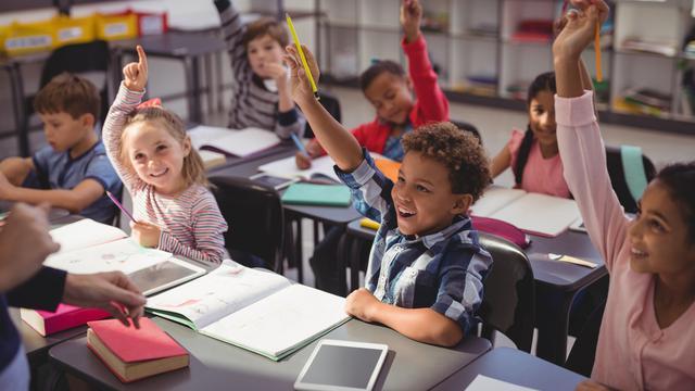 Ilustrasi Sekolah dan Anak (iStockphoto)