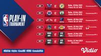 Streaming NBA Play-In Pekan Ini di Vidio. (Sumber : dok. vidio.com)