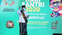 Peringati Hari Santri, Muhaimin Iskandar meluncurkan platform digital SantriNet. (Istimewa)
