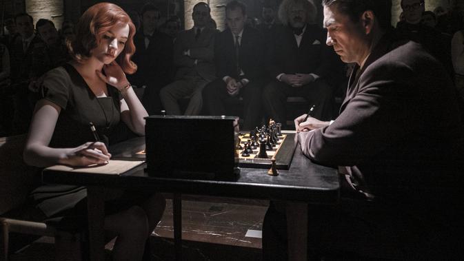 The Queen's Gambit. (PHIL BRAY/NETFLIX © 2020)