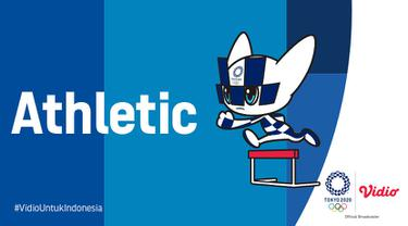Banner Atletik Indonesia Olimpiade Tokyo 2020