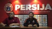 CEO Persija Jakarta, Ferry Paulus (kanan). (Bola.com/Benediktus Gerendo Pradigdo)