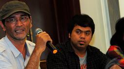 Kehadiran mereka untuk mendiskusikan  visi dan misi Jokowi-Jk mengenai industri kreatif, Jakarta, Selasa (17/6/2014) (Liputan6.com/Faisal R Syam)